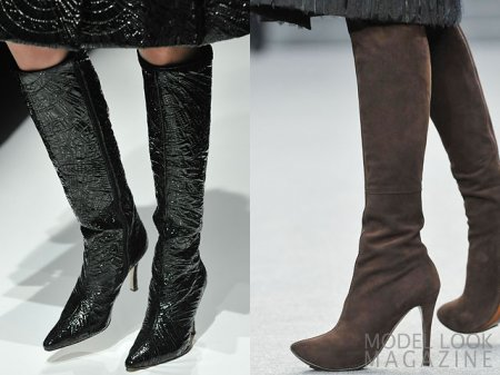 Модная обувь осень-зима 2 16-2 17: ключевые тренд