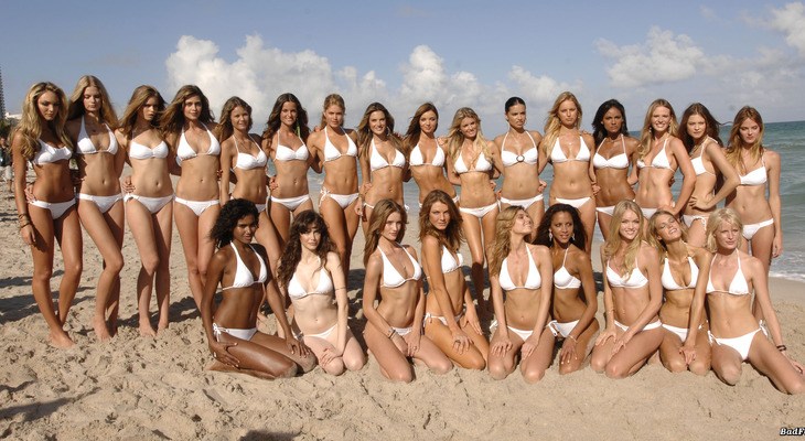 фото красавицы на пляже